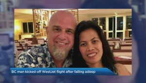 B.C. man kicked off WestJet flight after falling asleep before takeoff
